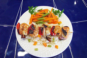 Shrimp Brocheta